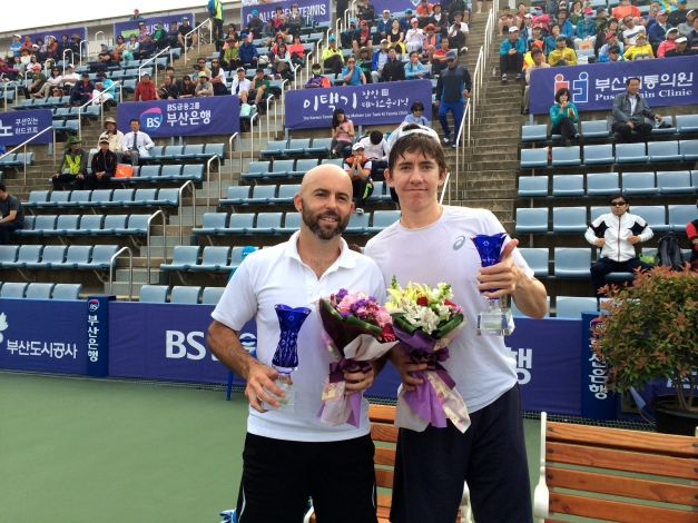 Jamie Delgado and JP Smith Busan Open Doubles Finalists