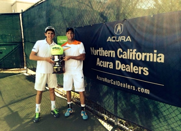 JP Smith and Adam Hubble defeat Peter Polansky and Adil Shamasdin for Sacramento $100k Doubles Title
